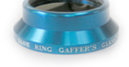 Blue Ring Engraved